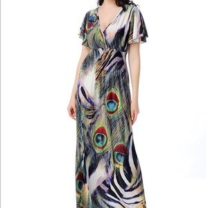 Casual Lounge Spring Maxi Dress